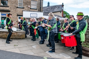 Valley Beats debut performance officially opens Holmfirth Arts Festival 2018